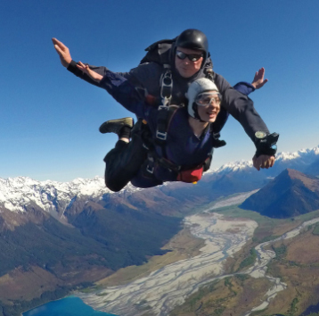 Skydive Queenstown Glenorchy Skydiving Nz 15 000ft High